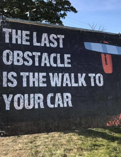 The last obstacle is the weak to your car